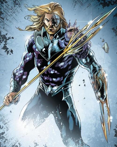 Como Geoff Johns veía al Aquaman de PAD, magistralmente dibujado por Iván Reis
