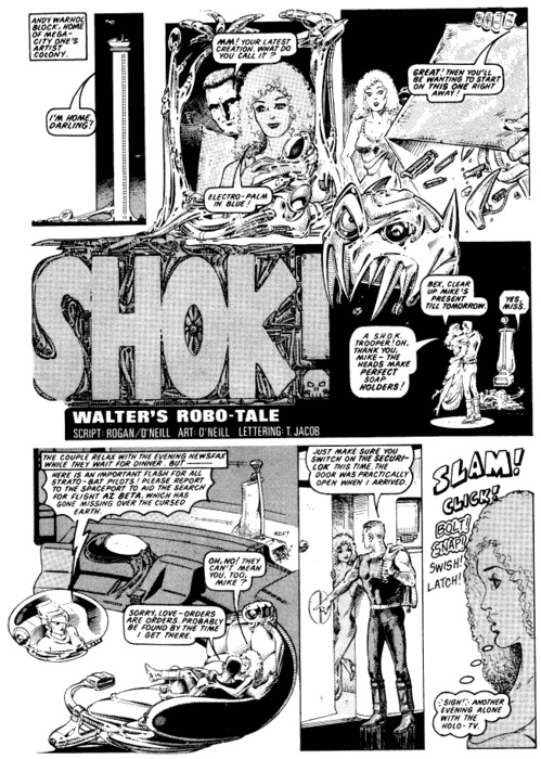 2000AD Kevin Oneill