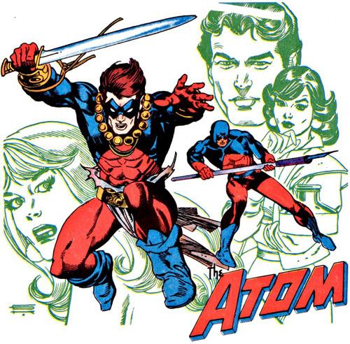El nuevo look que luce en la miniserie La Espada del Átomo.
