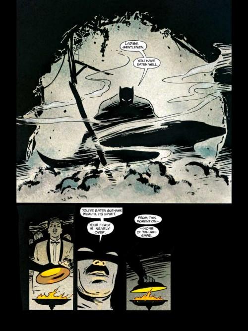 Batman Año Uno de David Mazzuchelli