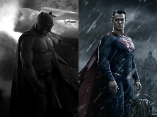 Ben Affleck y Henry Cavill, protagonistas de Batman v Superman: Dawn of Justice