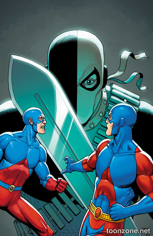 Portada del Atom #02 por Steve Dillon