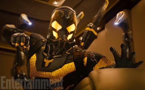 Chaqueta Amarilla y, si te fijas bien, Ant-Man