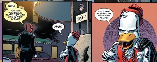 Deadpool Howard El Pato