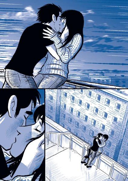 Nadie podía parar el amor que sentían el uno por el otro.