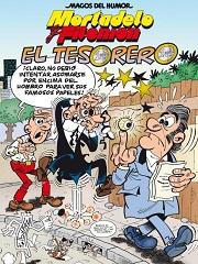 Mortadelo-Filemon-El-Tesorero_Fco-Ibañez_EdicionesB_portada