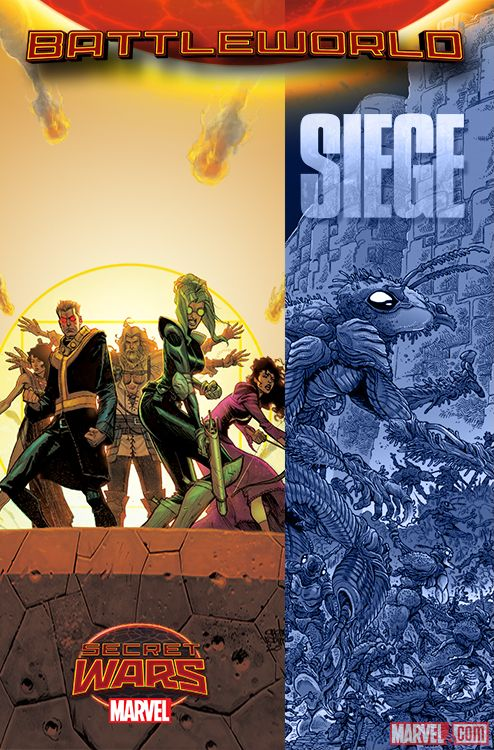 Siege Kieron Gillen Secret Wars IIII