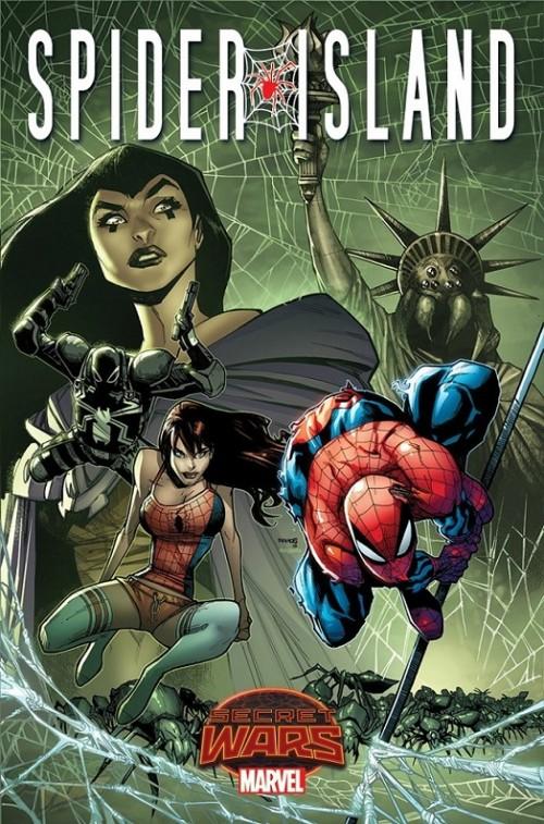 Spider-Isla Secret Wars portada