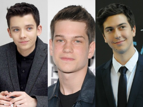 Asa Butterfield, Liam James y Nat Wolff