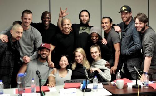 El equipo del Escuadrón Suicida excepto Jared Leto
