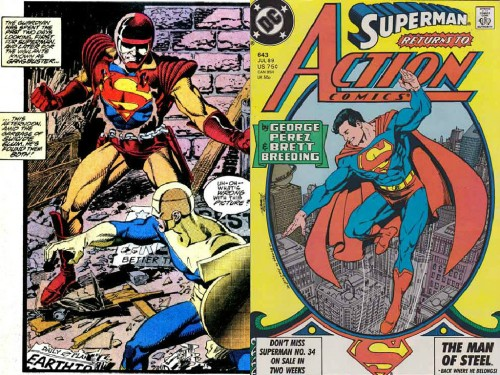 Caída y regreso de Superman en los 80
