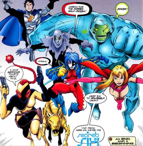 Convergence Justice League America Tangent Secret Six