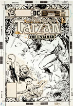 Tarzan-issue-250-cover-by-Jose-Luis-Garcia-Lopez-and-Ricardo-Villagran