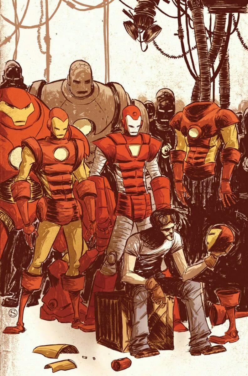 Tony y sus armaduras