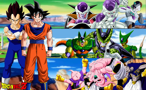 fondos de dragon ballz: