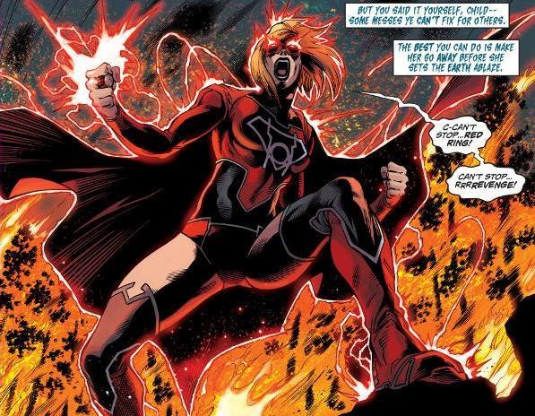 Supergirl como Red Lantern