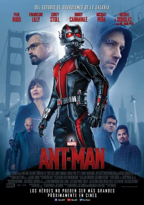 Póster español de Ant-Man