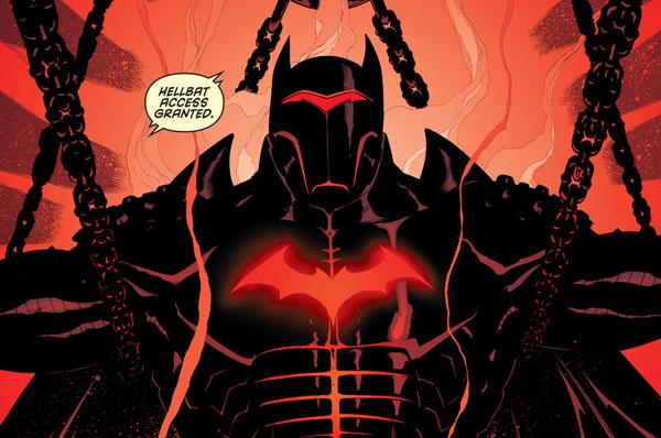 Hellbat, creando el Batman definitivo, dibujo de Patrick Gleason