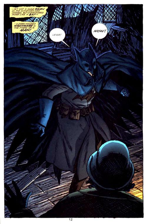 La interpretación de Batman para 1831.