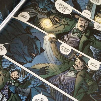 Primer encuentro de Poe (¿Robin?) con Batman.