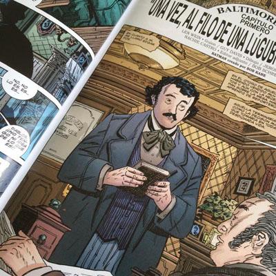 Poe como el personaje principal de la trama.