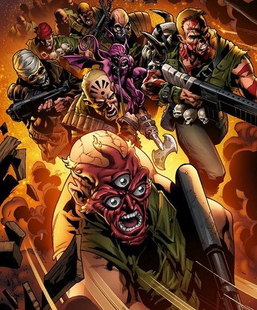 Caida de los Nuevos Mutantes