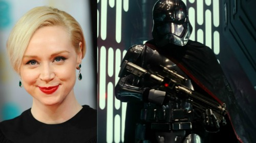 Captain Phasma, interpretada por Gwendoline Christie
