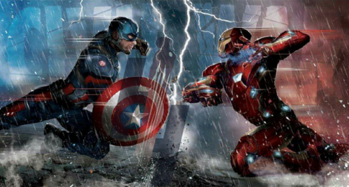 Concept art de Capitán América: Civil War