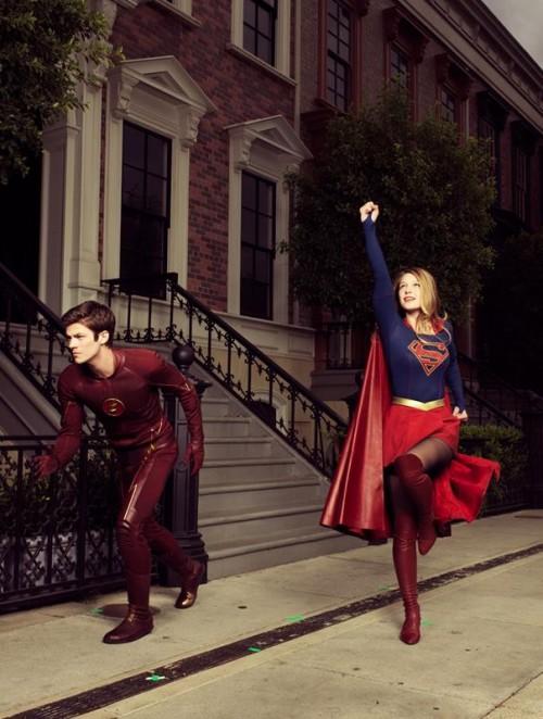 Flash y Supergirl, dos series en direcciones diferentes