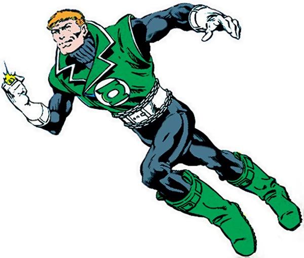 Posiblemente la estética más molona que un Green Lantern vaya a tener nunca