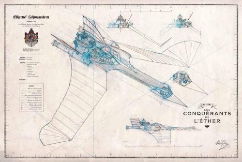 Diseño utilizado por Alex Alice para El Casitllo de las Estrellas