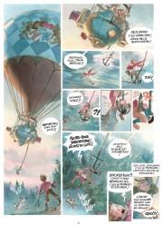 Algunas páginas de Alex Alice para El Castillo de las Estrellas