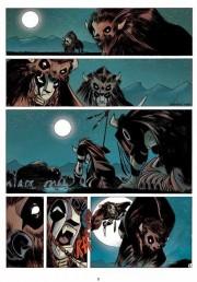 Primeras páginas de Luuna por Nicolas Keramidas