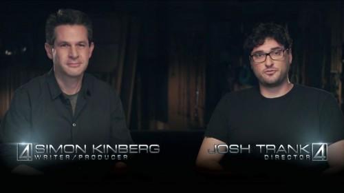 Simon Kinberg y Josh Trank comentando el tráiler de Cuatro Fantásticos