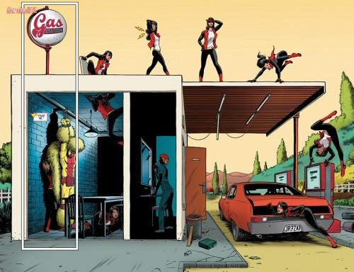 Spider-Woman Javier Rodriguez
