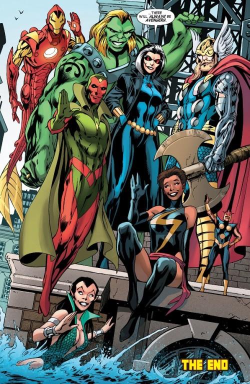 Uncanny Avengers Vengadores Futuro