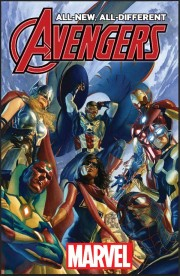 Portada de All-New All-Different Avengers