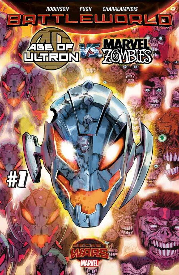 Age of Ultron vs Marvel Zombies cover