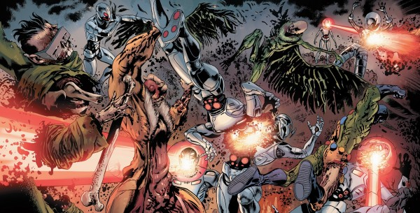 Age of Ultron vs. Marvel Zombies Splash-page