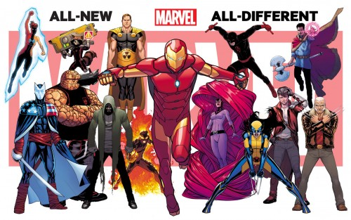 All New All Diferent Marvel Now 2