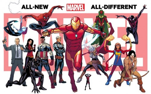 All New All Diferent Marvel Now