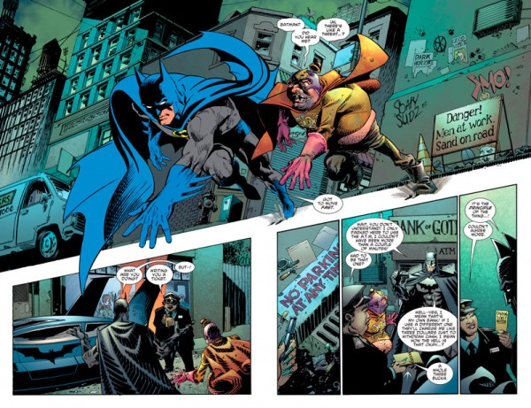 Batman también es humano