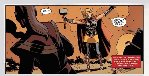 Captain Marvel Thor Kit