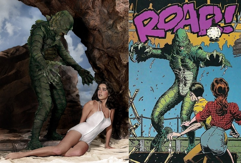 Creature-from-the-black-lagoon_film-vs-comic