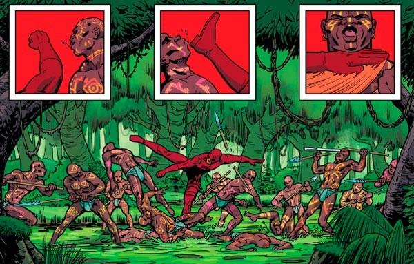 Matt en Wakanda al rescate de su madre.