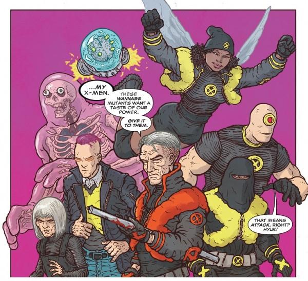 E Is For Extinction X-Men