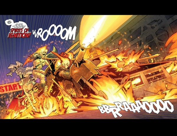 Ghost Racers Splash