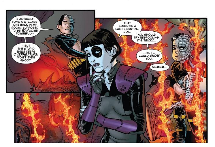 Dominó y Cable en Inferno, con un pequeño giro argumental