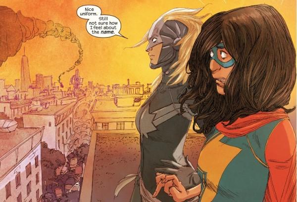 Ms. Marvel Capitan Marvel Secret Wars
