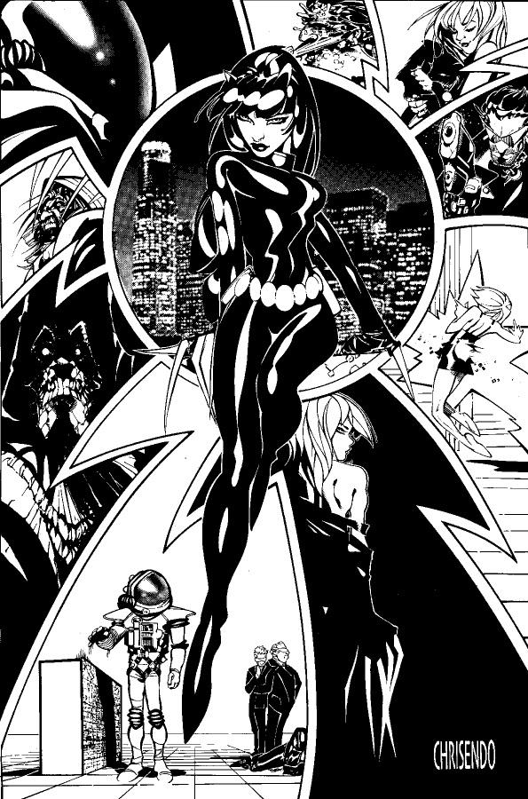 Stan Lee Catwoman Bachalo